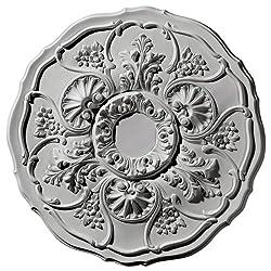 Ekena Millwork CM22CN 22 1/2-Inch OD Cornelia Ceiling Medallion