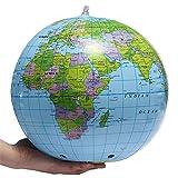 Zgsjbmh Büros Home Schlafzimmer Dekoration Aufblasbare Weltkugel Erde Karte Geographie Lehrer Hilfe Ball Spielzeug Geschenk 40 cm / 16