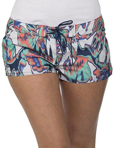 Bench Damen Shorts Badeshorts CASH WARBLE, Gr. 36 (Herstellergröße: S), Blau (Deep Cobalt BL085)