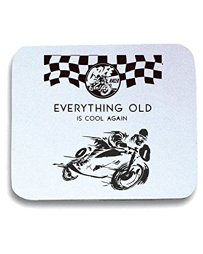 T-Shirtshock - Tappetino Mouse Pad TB0256 everything old is cool again, Taglia taglia unica