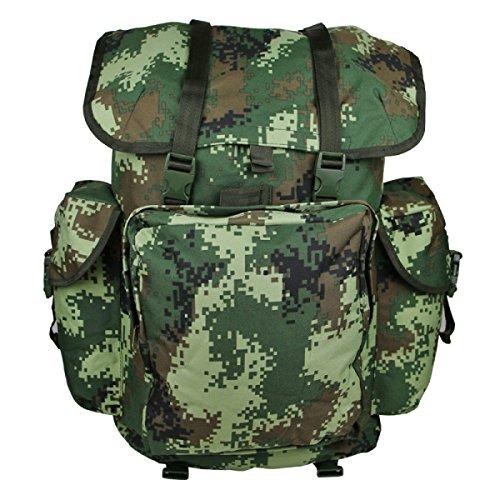 Zaino Camouflage Di Xin.S70L Zaino Portatile Delle Spalle Portatili Zaino Militare Tattico Sacchetto Di Attacco All'aperto Di Sport Campeggio Escursioni. Multicolore F