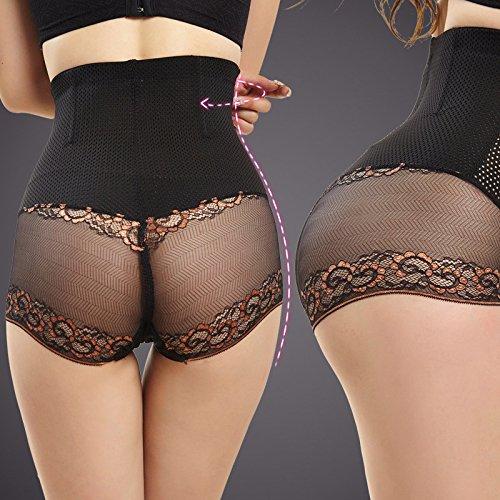Yuver (TM) vita alta Mutandine completa Shaper corpo con Butt Lifter pancia Controllo Mutandine Sexy (Vita Cintura Di Panty)
