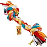 Foodie Puppies Durable Dog Chew Rope Toy for Small to Medium Dogs - Interactive Teething Rope Toy to Play with (Color…