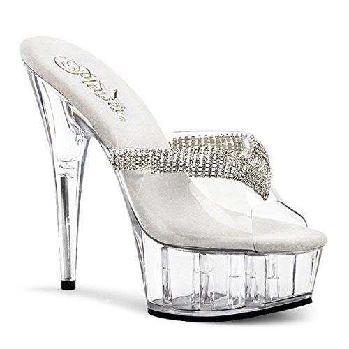 Tacchi Hi perfetti Femme top Trasparente Pantofole rrvPx5