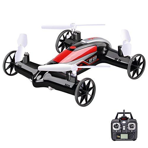 StillCool X9S Syma X9S 2.4 GHz 4CH 6 Achsen 360-Grad Geschwindigkeitsschalter Quadcopter mit 3D Flips Luft-Boden Fliegen Auto Multicopter RC Drohne Quadrocopter (schwarz) Android Rc Auto Mit Kamera