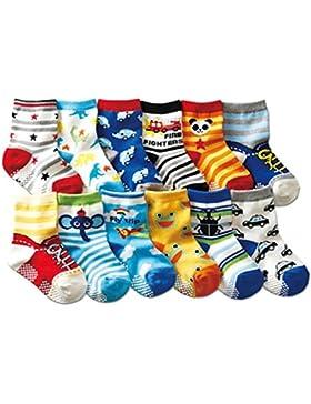 JT-Amigo 12er Pack Baby ABS Antirutsch Socken
