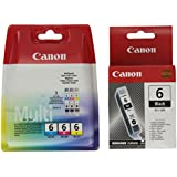 Canon BCI6 Ink Cartridge Multipack Genuine
