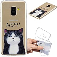 Everainy Samsung Galaxy A8 2018/A5 2018 Hülle Silikon Transparent Gummi Cover Hüllen für Galaxy A8 2018 Handyhülle... preisvergleich bei billige-tabletten.eu
