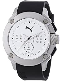 PUMA TIME Herren-Armbanduhr XL HYBRID Chronograph Quarz Resin PU103711002