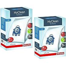 2x Miele GN Hyclean 3d eficiencia bolsas para aspiradora para Classic, completo, S2000, S5000, y S8000Series