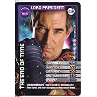 Doctor Who Monster Invasion Card #010 Lord President