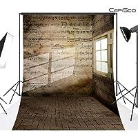 CapiSco Fondos Tema retro fotográficos Foto Vinilo fotografía Telones de fondo estudio Accesorios 1,5 x 2,1 m WD43