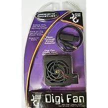 Dream Gear Sueño del ventilador de refrigeración de GEAR Nintendo GameCube Digi - Negro