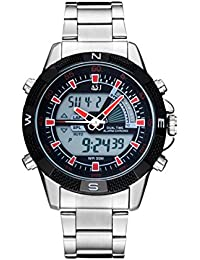 ASJ nuevo relojes hombres marca de lujo asg6 Hombres del cuarzo LED Digital reloj Hombre ejército