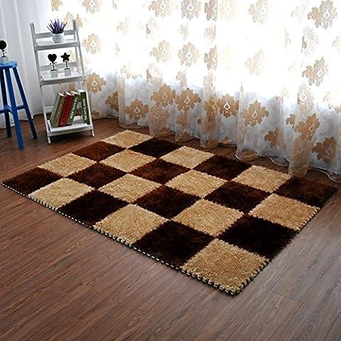 GUO-Stuoie di tatami che il soggiorno può essere tagliato ispessito schiuma puzzle , 2 , south korean silk a pack of 9