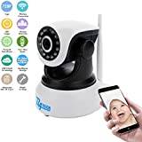 Bavision Wifi IP Camera Baby Monitor Home Security Cameras IP Cam Night Vision Two Way Audio