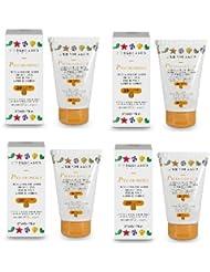 L'Erbolario–piccolosole Crème solaire Masque de protection pour le visage et pour le corps SPF30125ml–4...