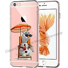 Flash® Disney Comic transparente móvil Samsung Smartphone Funda Soft Case Olaf chillt M2 S6 Edge PLUS