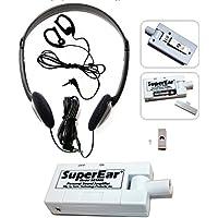 SuperEar - Amplificador de sonido personal, modelo SE5000(actualización  reestructurada de SE4000 discontinuo), aumenta el sonido ambiente, ganancia 50db