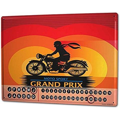 Calendario perpetuo Piatto Nostalgico Gran Premio (Perpetuo Premio)
