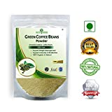 #4: Nutriherbs Organic Green Coffee beans Powder - 200gm. 100% Pure and Natural.(Pack of 1)