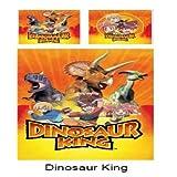 King Dinosaur Bettbezug (140 x 200 cm) und Kissenhülle, 65 x 65 cm)