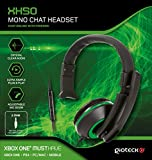 Designed to give crisp and clear chat audio when gaming online, the XH50 Mono Chat Headset uses 3.5mm jack for quick and easy set up. The lightweight design includes a cushioned ear cup and adjustable headband to ensure maximum comfort, whilst the si...