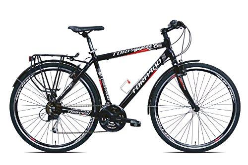 TORPADO BICICLETA SPORTAGE 283X 7V ALU TALLA 52NEGRO V17(TREKKING)/BICYCLE SPORTAGE 283X 7S ALU SIZE 52BLACK V17(SENDERISMO)