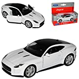 alles-meine.de GmbH Jaguar F-Type Coupe Weiss Ab 2013 ca 1/43 1/36-1/46 Welly Modell Auto