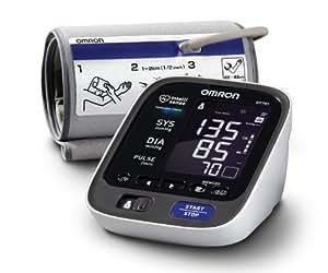 Omron BP785 10 Series Upper Arm Blood Pressure Monitor, Black/white