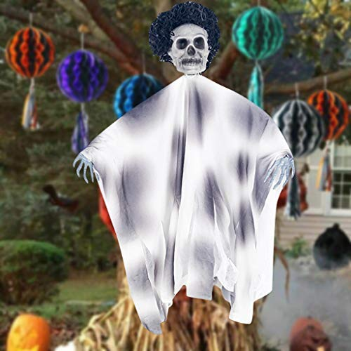 Halloween Deko Horror,Halloween Hänge Piraten Deko Hexe Gefangener Reaper Ghost Halloween Anhänger Liefert für Halloween Bars, Spukhäuser,Garten,Partys - Gespenst Piraten Kostüm Für Herren