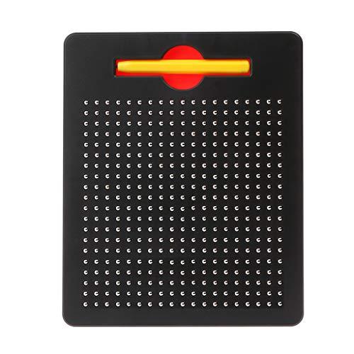 Qiuxiaoaa Kinder Baby Magnetic Steel Ball Schreibtafel Schreiben Reißbrett Magnetische Kugel Sketch Pad Tablet Pädagogische Kinder Spielzeug Schwarz - Pad Sketch Tablet