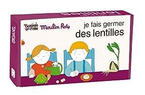Kit de germination pédagogique - lentille - Graines en folie - Gef1076
