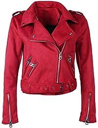Suchergebnis auf für: Zara Lederjacke Damen Rosa