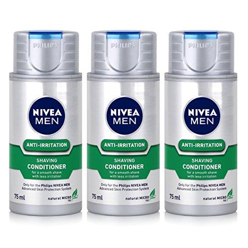 3x Philips HS 800/04 Rasier-Emulsion NIVEA for Men