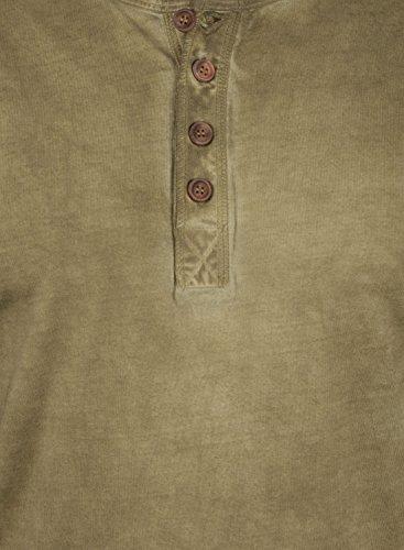 SOLID Timur - Maglie a manica lunga da Uomo Ermine (5944)