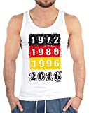 EM Men TankTop - Deutschland EM 2016 - Fußball Fans und Anhänger