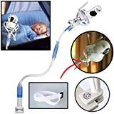 Little Sprouts — Soporte universal para cámara de bebé Flexxicam, soporte para monitor de vídeo infantil y estante — Soporte flexible para cámara de bebé compatible con la mayoría de monitores para bebé