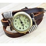 FENKOO Mode alten Stil Korb Armbanduhr Frauen