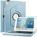 Boriyuan Touch Screen Tablet Computer Keyboard Case For Ipad Air 2 (Blue)