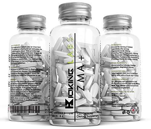 ZMA Extreme | Zinc, Maganesium y Vitamina B6 ZMA Suplemento | Promueva la fuerza muscular, la resistencia y la recuperación, aumente los niveles de testosterona, reduzca el cansancio, mejore el sueño | 2-3 meses de suministro