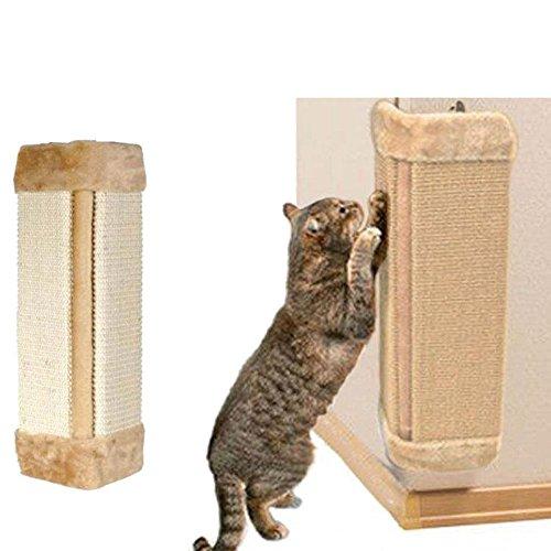 Sedensy appeso tiragraffi in sisal gatto che graffia passepartout, cat Pet Corner grattare scratch Board tappetino tiragraffi in sisal corda, 50cm*23cm*2.5cm