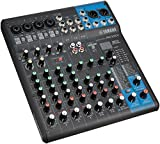 Yamaha MG10X U-DJ-Mixer DJ-Mixer (24Bit, 192kHz, 6,3mm, 22,9W, 24,4cm, 29,4cm) schwarz