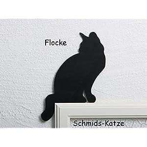 Katze für den Türrahmen Flocke