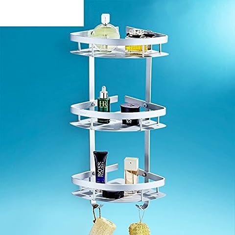 bagno/Salviette/ contenitore a parete/Three-tier bagno rack/Triangolo/Angolo/Rack-B