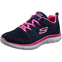 Skechers Flex Appeal 2.0-High Energy, Zapatillas para Mujer