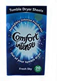 Best Dryer Sheets - 3 X 20 Comfort Intense Fresh Sky Tumble Review