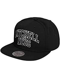 Mitchell & Ness Homme Casquettes / Snapback Black and White Arch noir Réglable