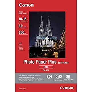 Canon consumible papel fotográfico plus semi-brillante SG-201 10x15 cm 50 hojas (B000KHRBMI) | Amazon price tracker / tracking, Amazon price history charts, Amazon price watches, Amazon price drop alerts