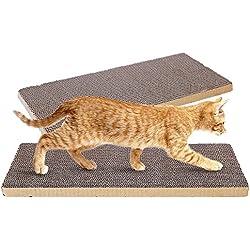 (Lot de 2) à chat Omem Coussinets Peut être découpé pour chats griffes de jouer n'importe où, DIY pour rendre votre animal Satisfaits